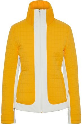 FUSALP Two-tone quilted shell jacket