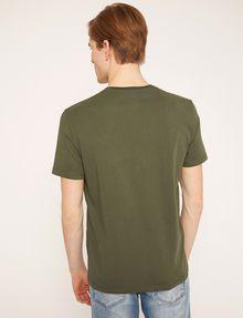 ARMANI EXCHANGE STENCIL V-NECK LOGO TEE Logo T-shirt Man e