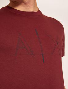ARMANI EXCHANGE SLIM-FIT BLUEPRINT CREW Logo T-shirt Man b