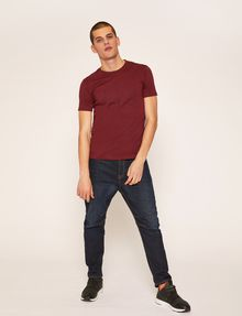 ARMANI EXCHANGE SLIM-FIT BLUEPRINT CREW Logo T-shirt Man d