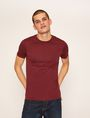 ARMANI EXCHANGE SLIM-FIT BLUEPRINT CREW Logo T-shirt Man f