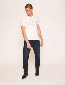 ARMANI EXCHANGE SLIM-FIT BLUEPRINT CREW Logo T-shirt [*** pickupInStoreShippingNotGuaranteed_info ***] d