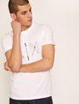 ARMANI EXCHANGE SLIM-FIT BLUEPRINT CREW Logo T-shirt [*** pickupInStoreShippingNotGuaranteed_info ***] a