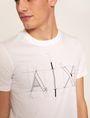 ARMANI EXCHANGE SLIM-FIT BLUEPRINT CREW Logo T-shirt [*** pickupInStoreShippingNotGuaranteed_info ***] b