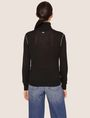 ARMANI EXCHANGE CONTRAST PIPING WOOL-BLEND TURTLENECK Turtleneck Woman e