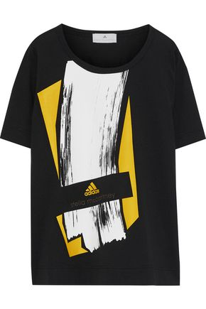 ADIDAS by STELLA McCARTNEY Essentials printed jersey T-shirt