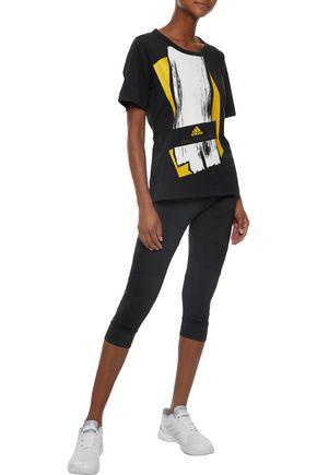ADIDAS by STELLA McCARTNEY Essentials printed jersey T-shirt
