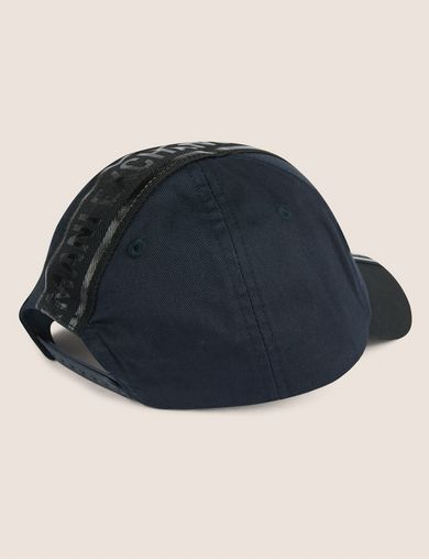 HIGH-SHINE LOGO TAPE HAT