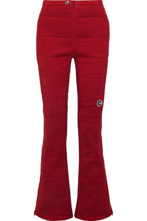 FUSALP Samoens quilted flared ski pants