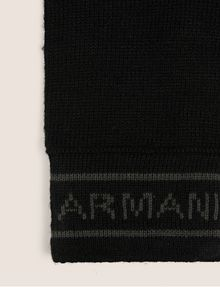 ARMANI EXCHANGE LOGO-KNIT GLOVES Glove [*** pickupInStoreShippingNotGuaranteed_info ***] r