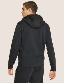 ARMANI EXCHANGE HOODED MESH WARM-UP JACKET Sweatshirt [*** pickupInStoreShippingNotGuaranteed_info ***] e