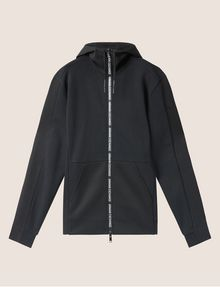 ARMANI EXCHANGE HOODED MESH WARM-UP JACKET Sweatshirt [*** pickupInStoreShippingNotGuaranteed_info ***] r