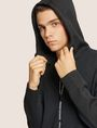 ARMANI EXCHANGE HOODED MESH WARM-UP JACKET Sweatshirt [*** pickupInStoreShippingNotGuaranteed_info ***] a