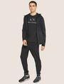 ARMANI EXCHANGE HOODED MESH WARM-UP JACKET Sweatshirt [*** pickupInStoreShippingNotGuaranteed_info ***] d