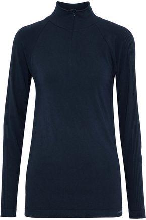 FUSALP Oasis mélange modal-blend jersey turtleneck top
