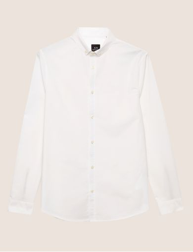 SLIM-FIT OXFORD STRETCH SHIRT