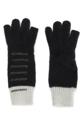RICK OWENS Mohair-blend fingerless gloves