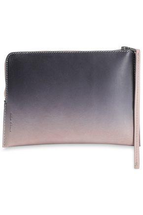 RICK OWENS Dégradé leather pouch