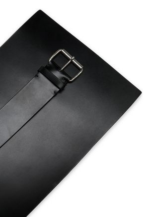 ANN DEMEULEMEESTER Leather waistbelt