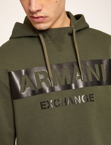 ARMANI EXCHANGE Felpa con cappuccio [*** pickupInStoreShippingNotGuaranteed_info ***] b