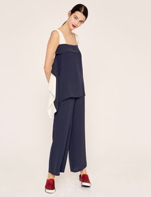 ARMANI EXCHANGE STITCHED WAIST WIDE-LEG PANT Culotte [*** pickupInStoreShipping_info ***] d