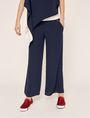 ARMANI EXCHANGE STITCHED WAIST WIDE-LEG PANT Culotte Woman f