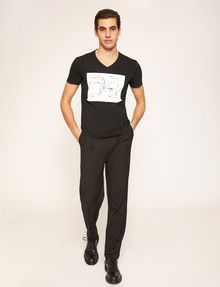 ARMANI EXCHANGE WHITEBOARD SKETCH SLIM LOGO TEE Graphic T-shirt [*** pickupInStoreShippingNotGuaranteed_info ***] d