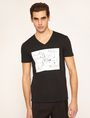 ARMANI EXCHANGE WHITEBOARD SKETCH SLIM LOGO TEE Graphic T-shirt [*** pickupInStoreShippingNotGuaranteed_info ***] f