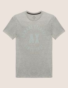 ARMANI EXCHANGE SLIM-FIT 1991 LOGO ARC CREW Logo T-shirt [*** pickupInStoreShippingNotGuaranteed_info ***] r