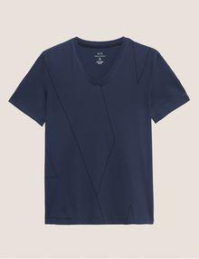 ARMANI EXCHANGE REGULAR-FIT LARGE PRINT LOGO V-NECK Graphic T-shirt [*** pickupInStoreShippingNotGuaranteed_info ***] r