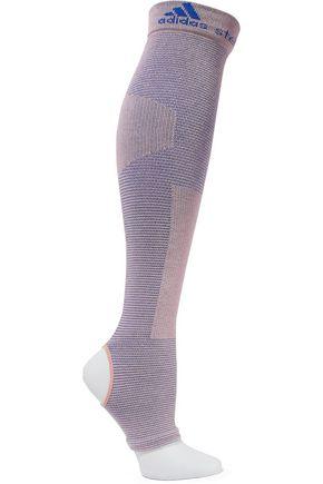 ADIDAS by STELLA McCARTNEY Cutout ribbed cotton-blend socks
