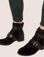 ARMANI EXCHANGE FAUX-SUEDE SEAMED LEGGINGS Legging Woman b