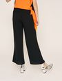 ARMANI EXCHANGE STITCHED WAIST WIDE-LEG PANT Culotte Woman e