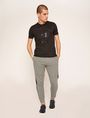 ARMANI EXCHANGE SLIM-FIT 1991 LOGO ARC CREW Logo T-shirt Man d