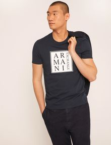 ARMANI EXCHANGE T-shirt con logo [*** pickupInStoreShippingNotGuaranteed_info ***] a