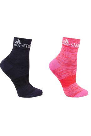 ADIDAS by STELLA McCARTNEY Set of two stretch-knit socks