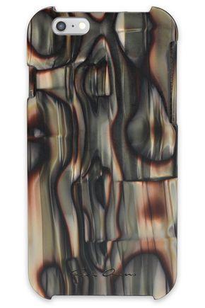 RICK OWENS Marbled acetate phone case
