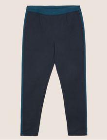 ARMANI EXCHANGE CIRCLE LOGO BONDED SWEATPANT Fleece Trouser Man r