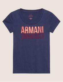 ARMANI EXCHANGE Logo-T-Shirt Damen r