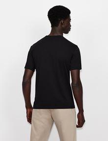 ARMANI EXCHANGE CLASSIC CIRCLE LOGO CREW Logo T-shirt [*** pickupInStoreShippingNotGuaranteed_info ***] e