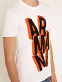 ARMANI EXCHANGE BLOCK LETTER SLIM LOGO TEE Logo T-shirt Man b