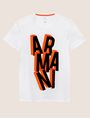 ARMANI EXCHANGE BLOCK LETTER SLIM LOGO TEE Logo T-shirt Man r