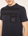 ARMANI EXCHANGE Solid T-shirt [*** pickupInStoreShippingNotGuaranteed_info ***] b
