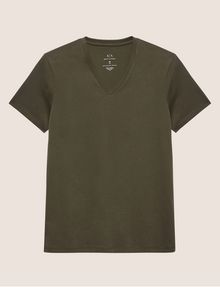 ARMANI EXCHANGE Solid T-shirt [*** pickupInStoreShippingNotGuaranteed_info ***] r