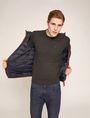 ARMANI EXCHANGE CLASSIC INSIGNIA CREWNECK SWEATER Pullover [*** pickupInStoreShippingNotGuaranteed_info ***] a
