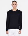 ARMANI EXCHANGE CLASSIC INSIGNIA CREWNECK SWEATER Pullover [*** pickupInStoreShippingNotGuaranteed_info ***] f