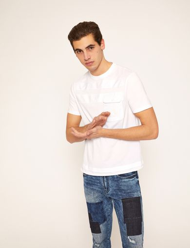 ARMANI EXCHANGE Basic-T-Shirt Herren F