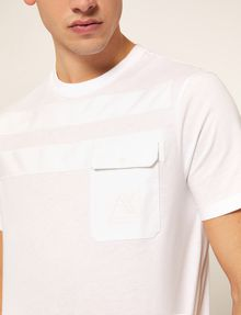 ARMANI EXCHANGE T-Shirt a Tinta Unita [*** pickupInStoreShippingNotGuaranteed_info ***] b