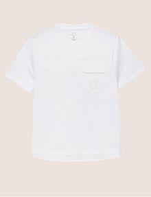 ARMANI EXCHANGE T-Shirt a Tinta Unita [*** pickupInStoreShippingNotGuaranteed_info ***] r