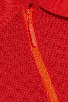 ADIDAS by STELLA McCARTNEY Neon stretch-knit tank